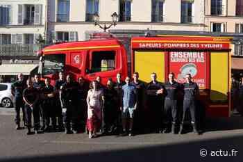 Yvelines. Hommage des pompiers pour le départ de Philippe Pelée à Versailles - actu.fr
