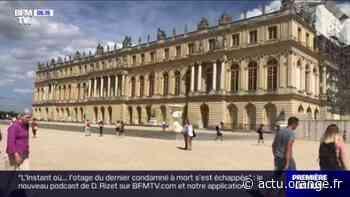 Crise: le château de Versailles déserté par les touristes - Actu Orange
