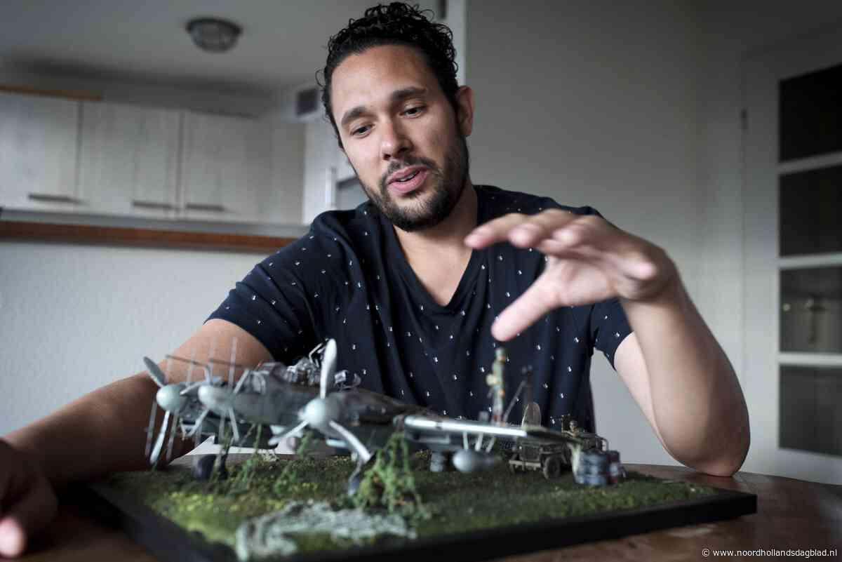 Modelbouwer Rowdy Springintveld uit Beverwijk vertelt oorlog... - Noordhollands Dagblad
