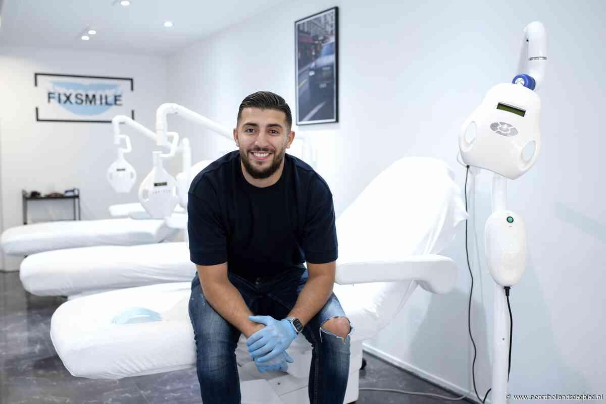 Omar Gallouch (24) opent tandenbleeksalon in Beverwijk. 'Men... - Noordhollandsdagblad - Noordhollands Dagblad