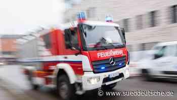 Brand Mehrfamilienhaus: Zwölf Bewohner im Krankenhaus - Süddeutsche Zeitung