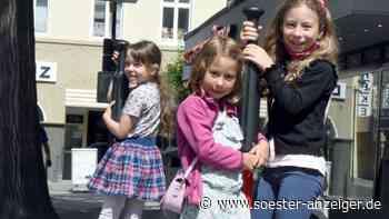 Die Stadt Werl gibt neue Spielgeräte in der Innenstadt frei - soester-anzeiger.de