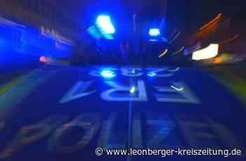 Renningen/Leonberg: Betrunkener randaliert und will Polizisten verletzen - Renningen - Leonberger Kreiszeitung