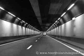 Velsertunnel dicht in de richting van Beverwijk; technisch mankement is de oorzaak - Noordhollands Dagblad