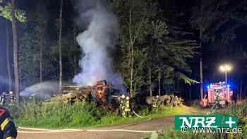 Viersen: Feuerwehr löscht Brand auf Süchtelner Höhen - NRZ