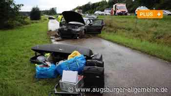 Stetten: Aquaplaning: Unfall auf der A96 - Augsburger Allgemeine
