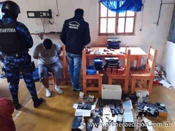 """Investigan si el """"armero"""" de San Lorenzo robó las armas de su trabajo para venderlas - Primera Edicion"""
