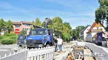 Fernwärme-Ausbau in Sulzbach-Rosenberg: Arbeiten laufen in den letzten Bauabschnitten - Onetz.de