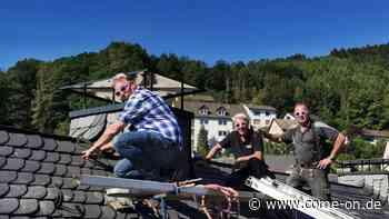 Sanierung an der Ackerstraße in Altena: Neue Schieferdächer fertig - Meinerzhagener Zeitung