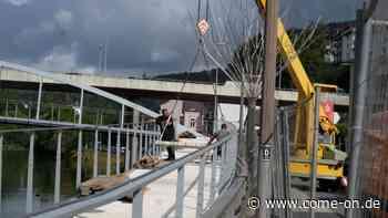 Fußgängerbrücke in Altena kommt ein kleines Stückchen voran - come-on.de