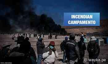 Aimaras protestan para detener proyecto hídrico entre Puno y Tacna - Wayka