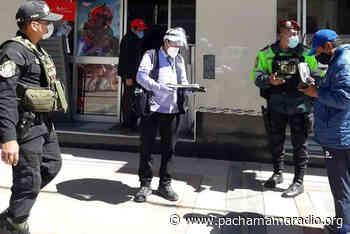 Puno: colocan papeleta de infracción de bioseguridad a tres personas - Pachamama radio 850 AM