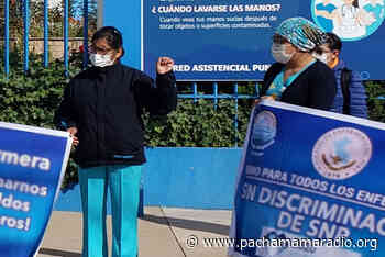 Enfermeras de EsSalud de Puno exigen dotación de equipos de protección - Pachamama radio 850 AM