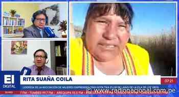Puno: Artesanas de las Islas de los Uros confeccionan innovadoras mascarillas - Radio Nacional del Perú
