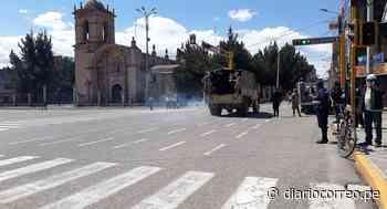 Desde hoy refuerzan control en las ciudades de Juliaca y Puno - Diario Correo