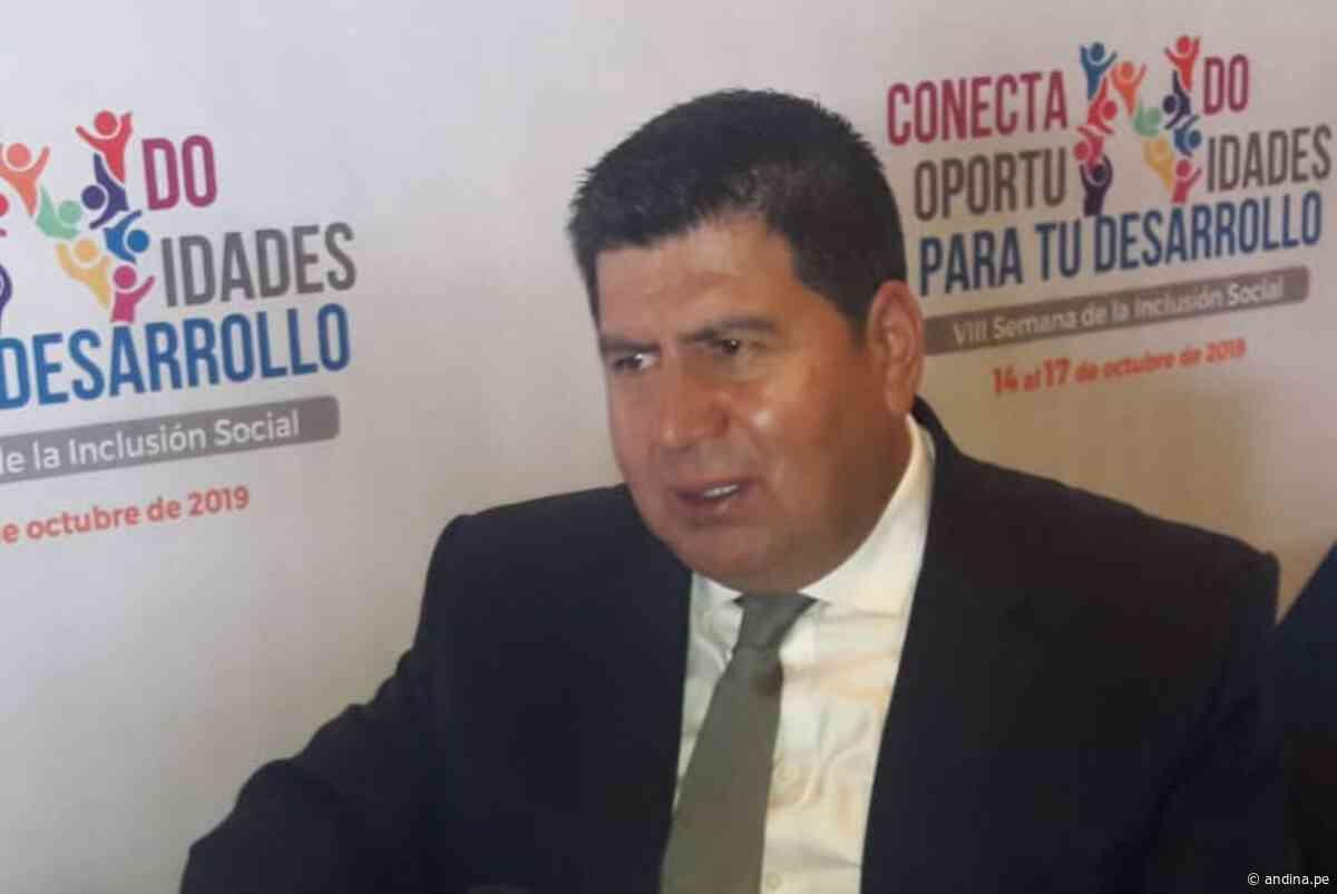 Coronavirus: gobernador de Huancavelica confirma que dio positivo a covid-19 - Agencia Andina