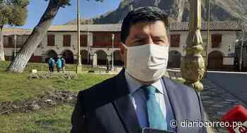 Gobernador regional de Huancavelica da positivo a COVID - 19 - Diario Correo