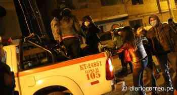 Huancavelica: Más de 20 pobladores desafían toque de queda - Diario Correo