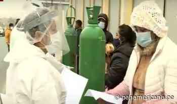 Ate: oxígeno gratis llegó al estadio Ollantaytambo para vecinos de Lima Este   Panamericana TV - Panamericana Televisión