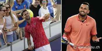 Nick Kyrgios schiesst mit US-Open-Absage erneut gegen Novak Djokovic - Nau.ch