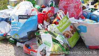 Triberg: Ordnungsgelder für Müllsünder - Triberg - Schwarzwälder Bote