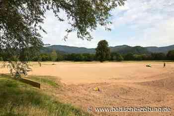Zwei neue Bahnen sind derzeit auf dem Golfplatz in Kirchzarten im Bau - Kirchzarten - Badische Zeitung