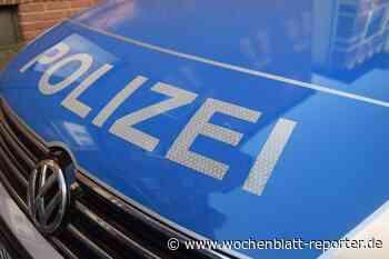 Teile Eisenbergs mit blauer Farbe besprüht: Sachbeschädigungen durch Graffiti - Wochenblatt-Reporter