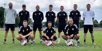 Erste Trainingseinheit des FC 05: Am Wochenende zwei Testspiele in Schweinfurt - inUNDumSCHWEINFURT_DE