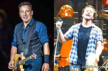 Eddie Vedder recuerda el consejo que le dio Bruce Springsteen - Indie Hoy