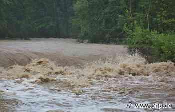 Videos und Fotos: Regen führt zu Hochwasser in der Region - Passauer Neue Presse