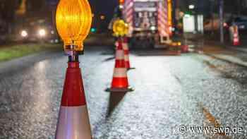Unfall A8 Kirchheim/Teck: Zu schnell im Regen: Autos schleudern auf Autobahn gegen Leitplanke - SWP