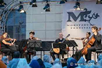 Der Regen spielte mit! Moritzburg Festival: Das etwas andere Eröffnungskonzert - TAG24