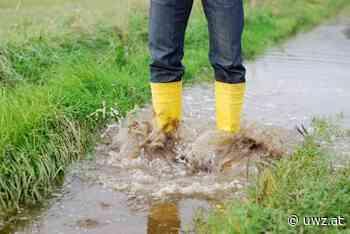 Nach Regen folgt mehr Regen - Unwetterzentrale