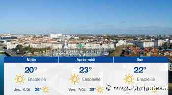 Météo La Rochelle: Prévisions du mercredi 5 août 2020 - 20minutes.fr