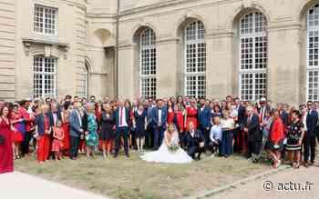Mariage inédit à Caen : 150 invités aux couleurs du Stade Malherbe - actu.fr