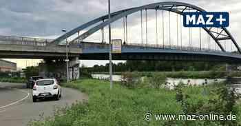 Mann auf Eisenbahnbrücke in Brandenburg/Havel: Bundespolizei stoppt Zug - Märkische Allgemeine Zeitung