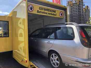 Verkehrssicherheit: ADAC Berlin-Brandenburg bietet kostenlose Pkw-Checks im Prüf- und Servicemobil - Märkische Onlinezeitung