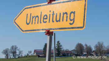 Schwaig: Abfahrtsrampe ab 3. August vollgesperrt - Merkur.de