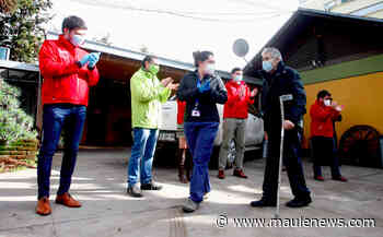 Adultos mayores volvieron al Hogar Betania en Curicó tras recuperarse de Covid-19 - Maule News