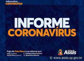 Em 24 horas, 29 pacientes são confirmados com COVID-19 e uma morte entra em investigação - Prefeitura de Assis