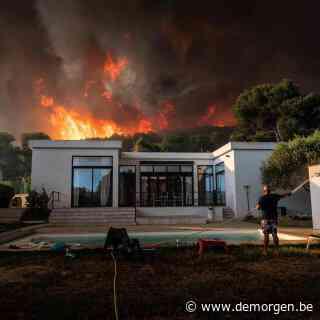 Kustcampings in buurt van Marseille geëvacueerd wegens bosbrand