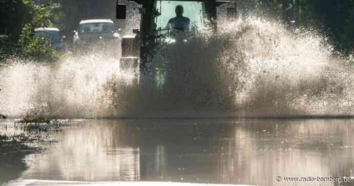Hochwasser in Südostbayern fließt ab