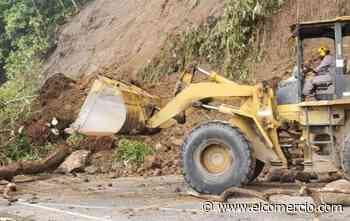 Deslizamiento y colapso parcial afectan a la vía Macas-Puyo - El Comercio (Ecuador)