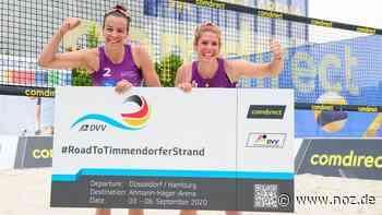 """""""Freude und Erleichterung pur"""": Beachvolleyballerin Aulenbrock aus Bad Laer für DM qualifiziert - noz.de - Neue Osnabrücker Zeitung"""