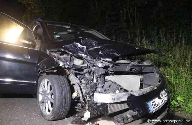 POL-RBK: Odenthal - Schwerer Verkehrsunfall zwischen Funkenhof und Voiswinkel