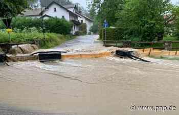 Starkregen: Einsatz am Högl – Meldestufen an Saalach und Sur - Passauer Neue Presse