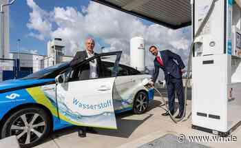 Münster: Neues Brennstoffzellen-Auto für Stadtwerke
