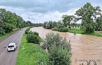 Trotz Dauerregen: Alztal bleibt vom Hochwasser verschont - Garching an der Alz/Burgkirchen an der Alz - Passauer Neue Presse