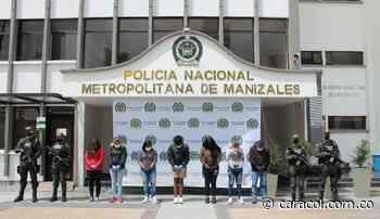 Desarticulan en Manizales al grupo delincuencial Los Guateque - Caracol Radio