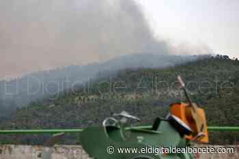 Extinguido el incendio de Ayna - El Digital de Albacete